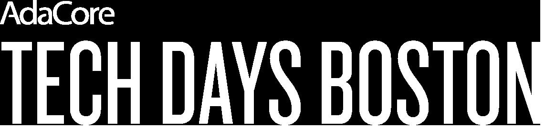 Tech Days Boston Logo